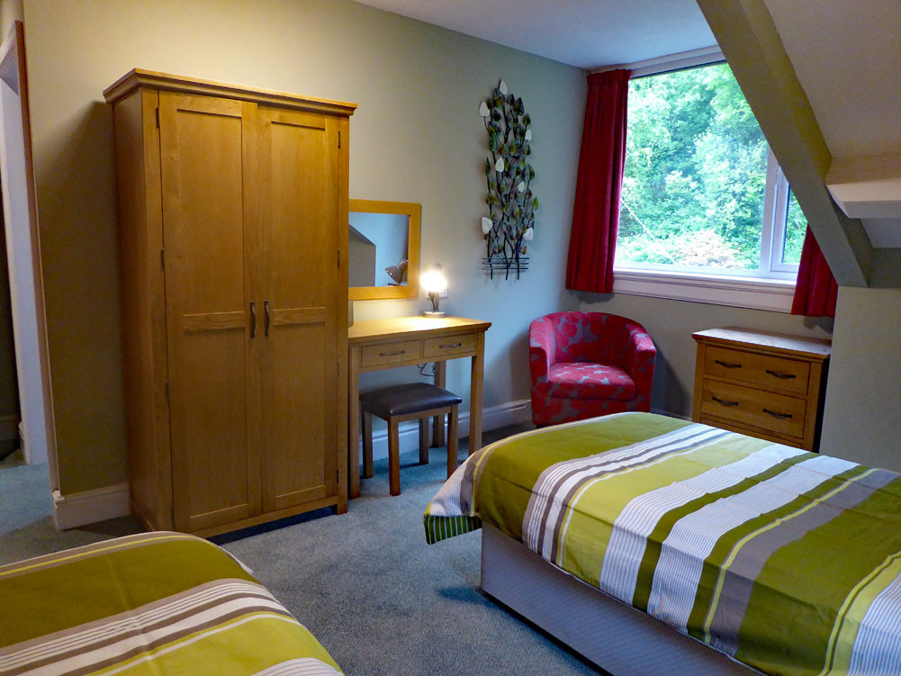 Eryri twin bedroom