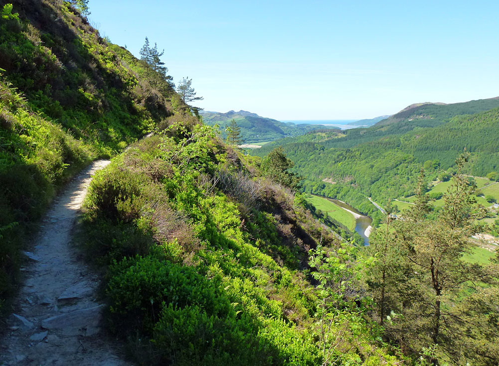 The Precipice Walk near Dolgellau