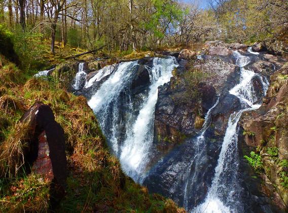 Rhaeadr Ddu upper falls