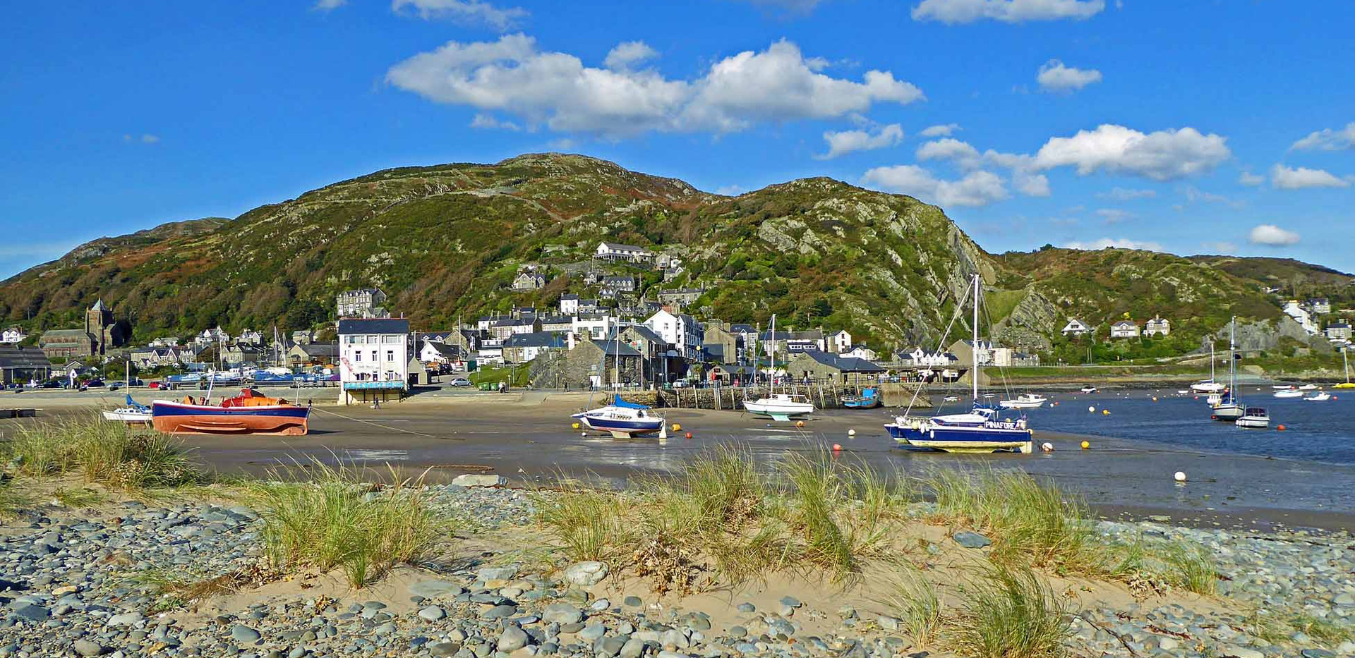 Barmouth from the dunes