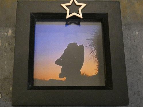 Barmouth Moai Small Box Frame