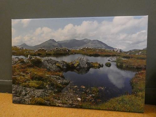 Snowdon Horshoe from Carnedd y Cribau Canvas Print