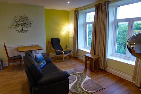 Living room in Derwen