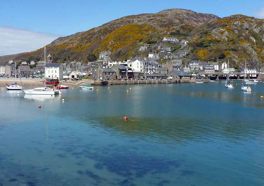 Barmouth from across the harbour