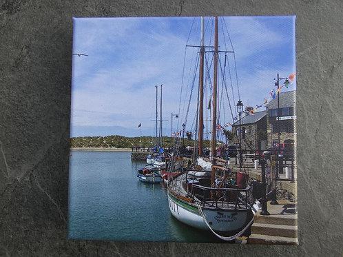 Barmouth Quay Canvas Print