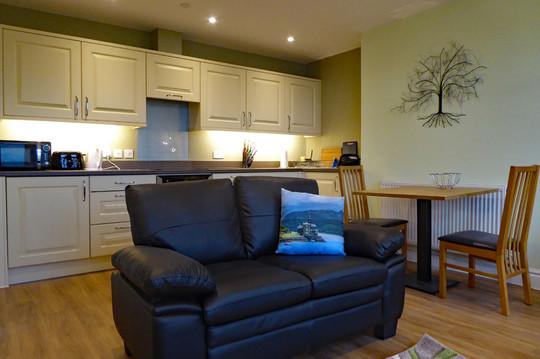 Derwen living/kitchen