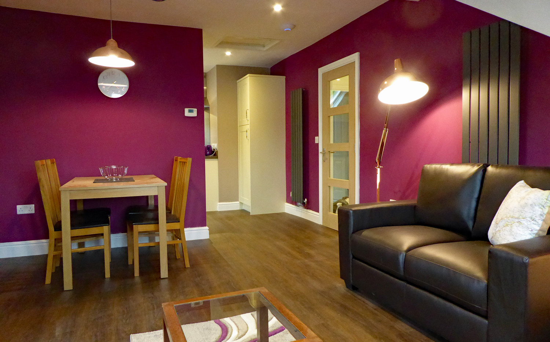 Eryri living/dining room
