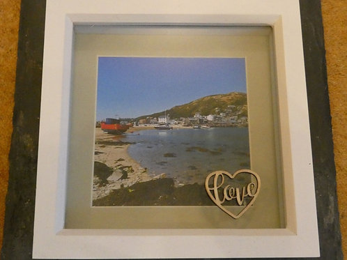 Barmouth Harbour Box Frame