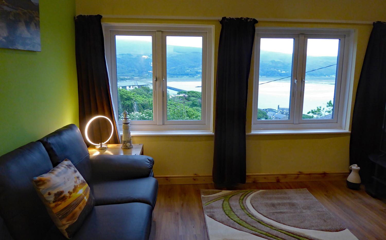 Noddfa living area outlook