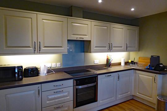 Derwen kitchen area
