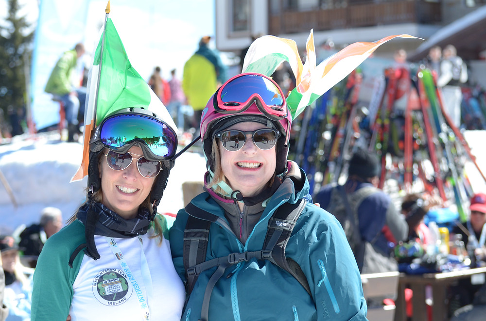 Member support team for Irish Interski Team