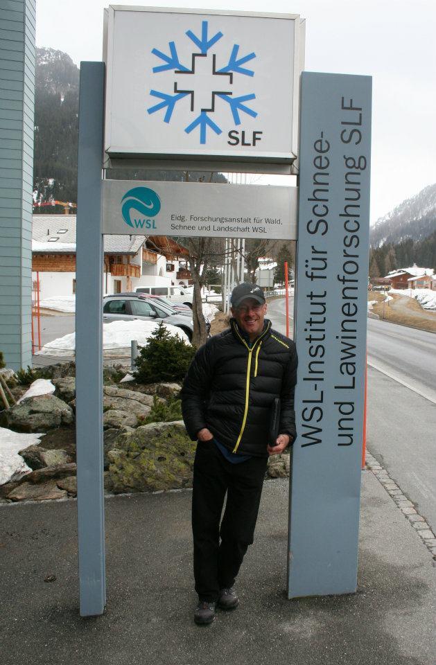 Derek Tate in Davos