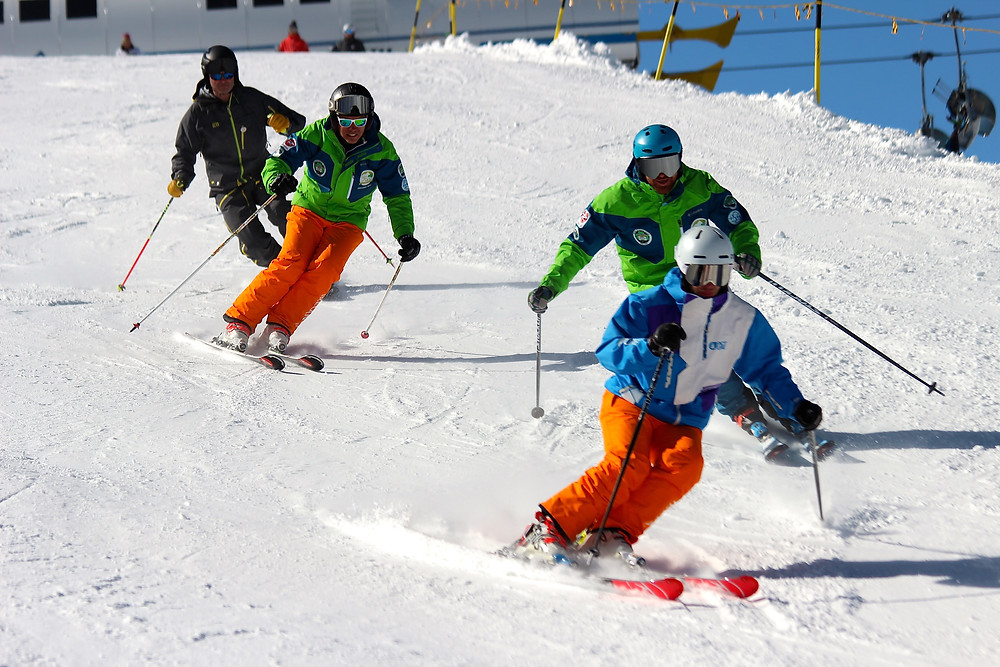 Irish Interski Team Training