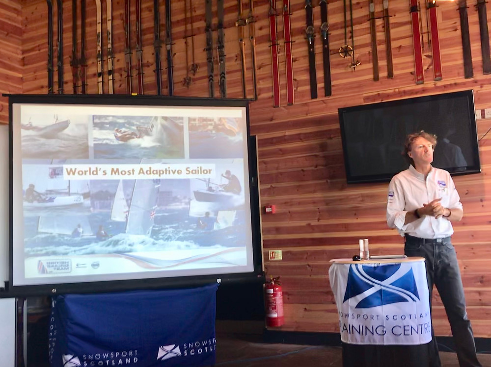 Snowsport Scotland Summit presentation day one