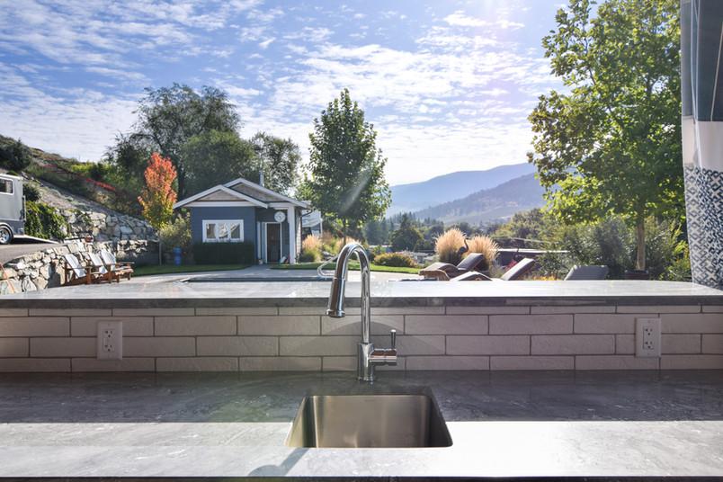 Granite and Dekton Outdoor Kitchens Okanagan