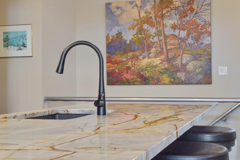 Granite and Quartz Kitchen Countertops in the Okanagan