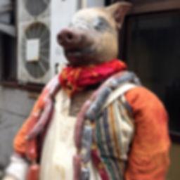 あやちクローデル 豚 肉屋 おじさん