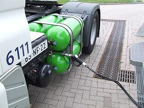 LPG, LNG, CNG voor trucks