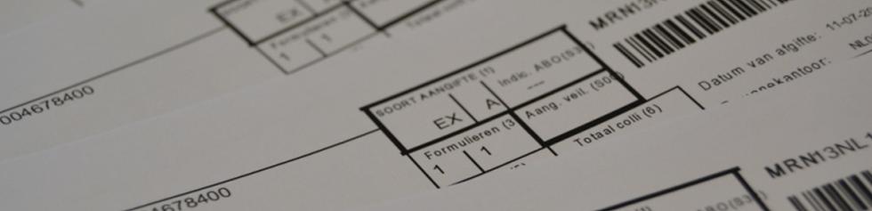 Douane document ex-a