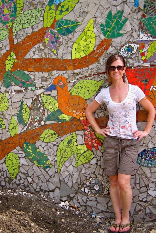 Tara on the TREE of LIFE Mosaic Wall
