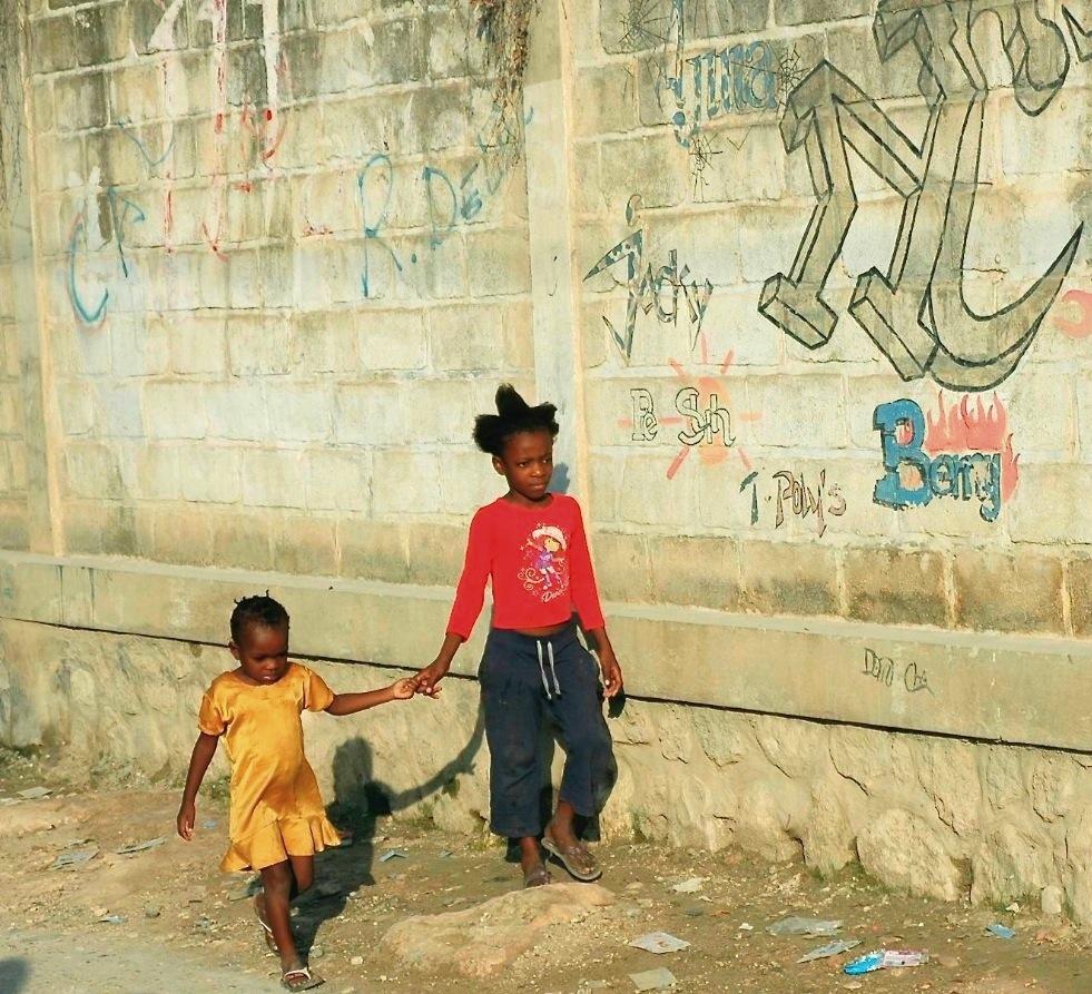 Sisters in Haiti