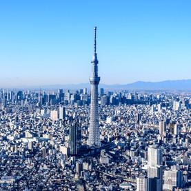 《日本 | 东京》东京晴空塔  正在等待世界放晴那天