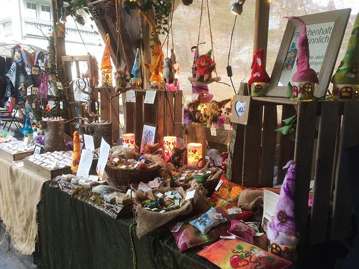 Herbstmarkt Bremgarten Stand