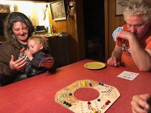 Spiel und Spass bei den Grosseltern