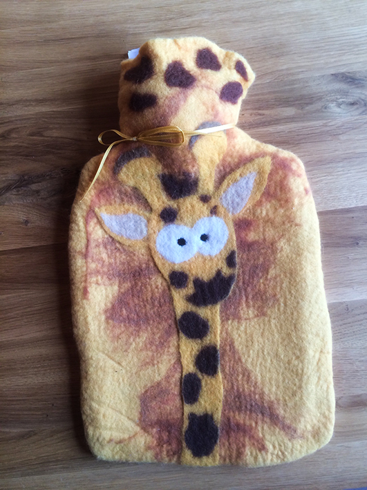 Wärmflasche Giraffe