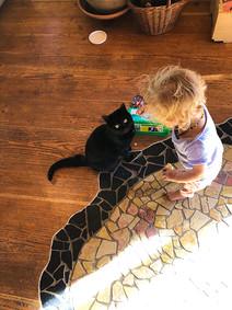 Zeit mit Katzi