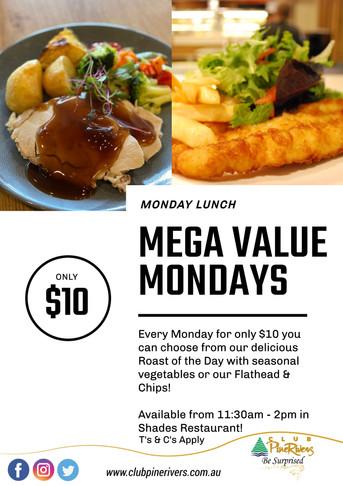 Mega Value Mondays