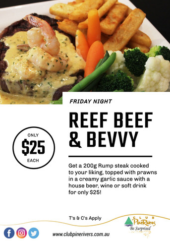 Reef, Beef & Bevvy