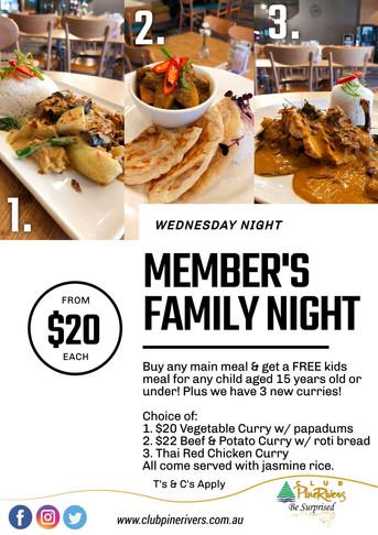 Member's Family Night
