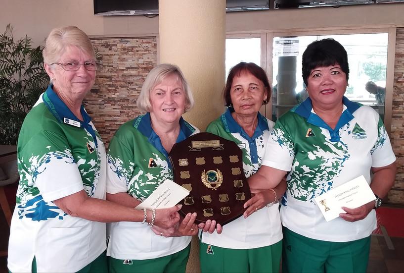 Championship Fours Winners 2021 - Sue Bond, Mareen Phelan, Dawn Denford, Ester Reagan.jpg