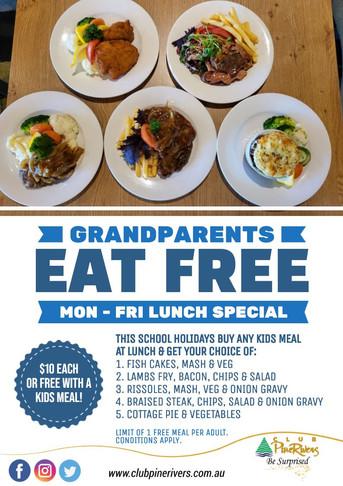 Grandparents Eat Free