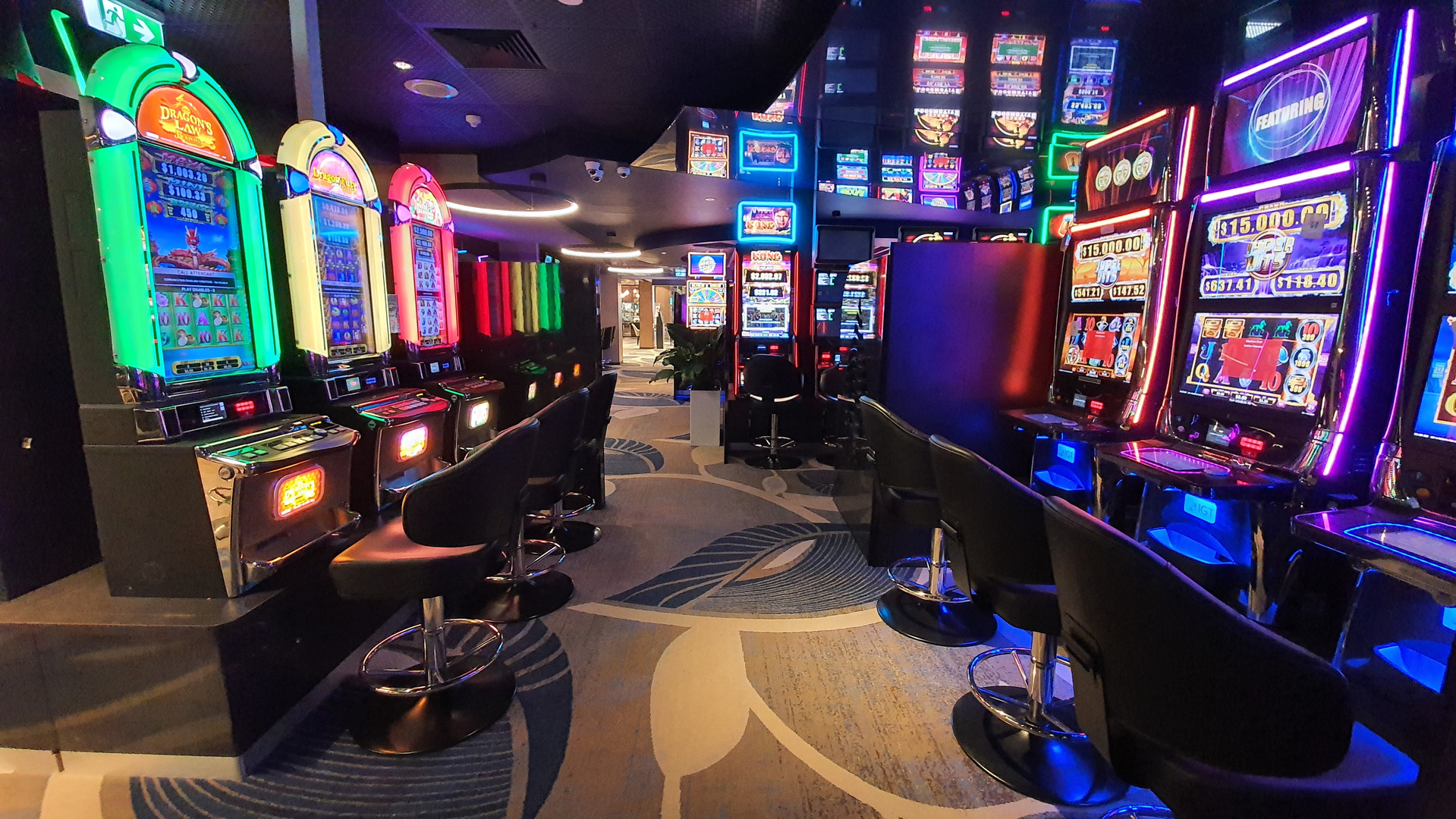 New gaming floor