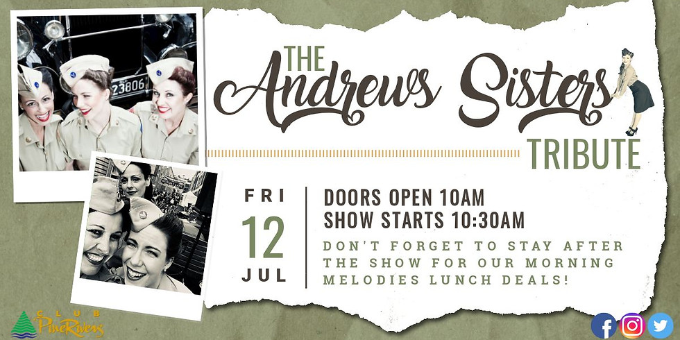The Andrews Sisters Tribute