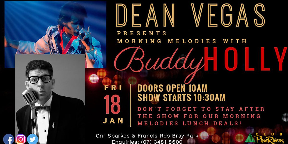 SOLD OUT - Dean Vegas & Buddy Holly