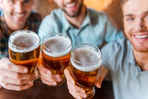Grab a beer with mates!