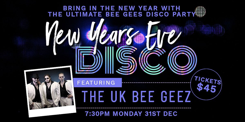New Years Eve Disco - SOLD OUT
