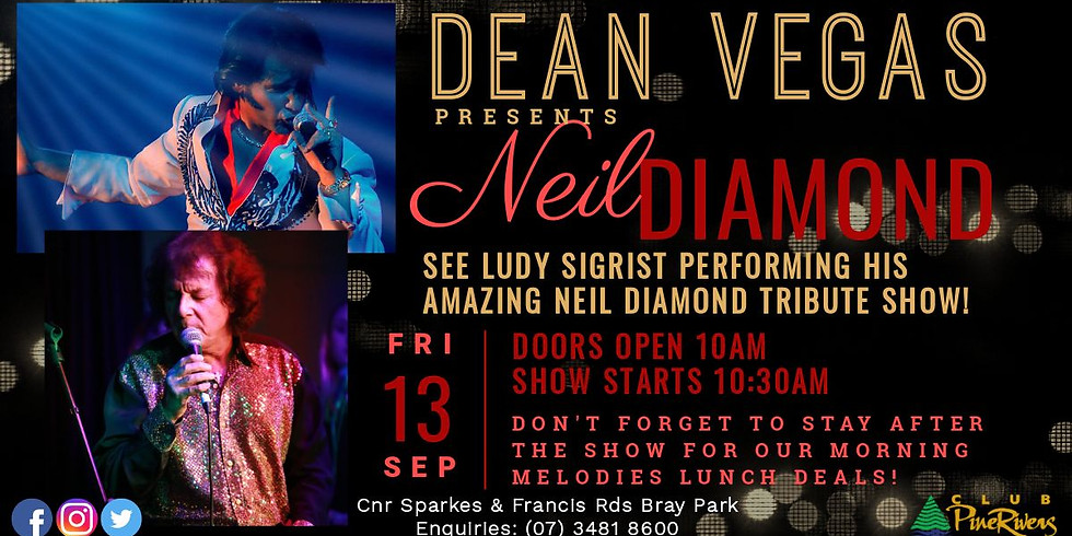 Dean Vegas presents Neil Diamond