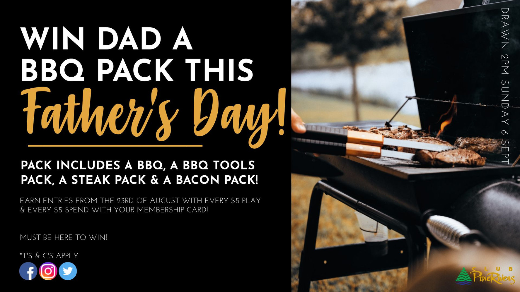 Win dad a BBQ Pack