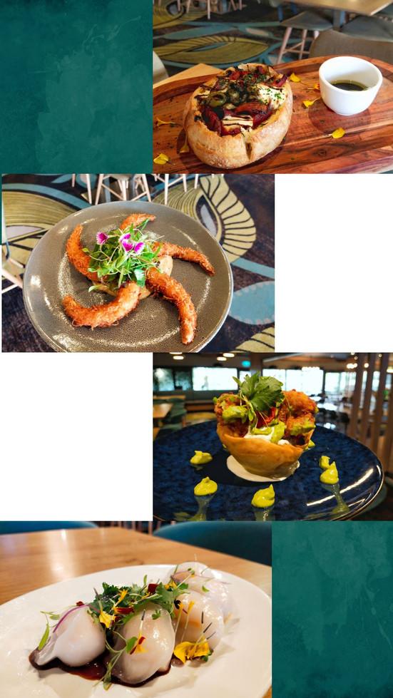 2020 Dinner Menu - Entree Photos