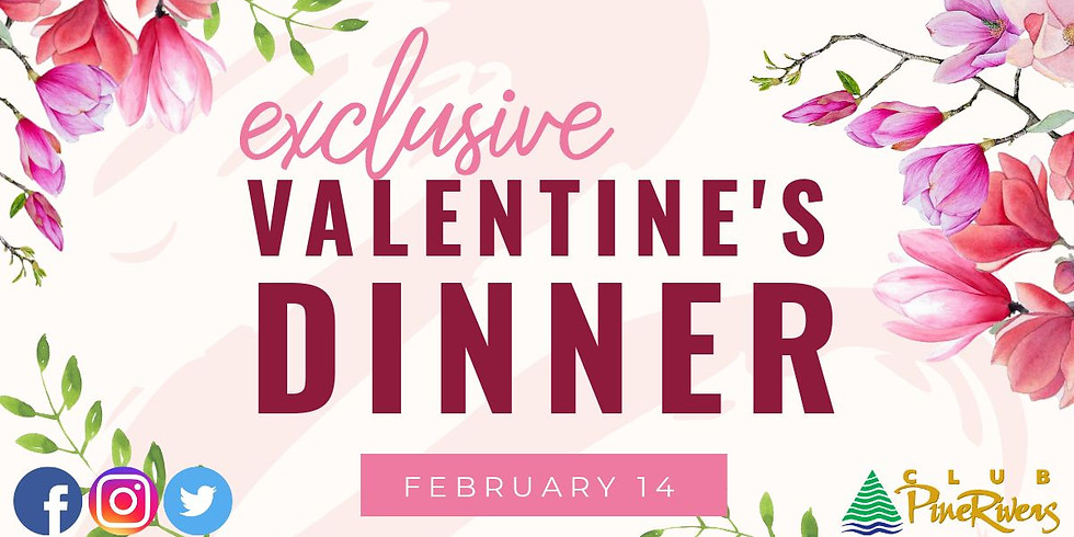 Exclusive Valentines Day Dinner (call to register)