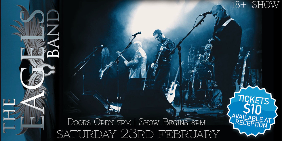 SOLD OUT - The Eagels Band