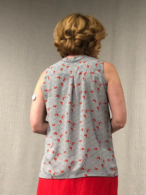 Camisole ample à plis creux 513