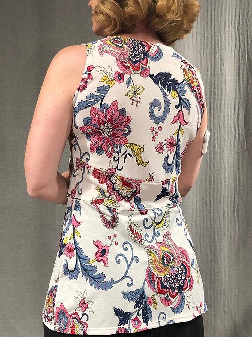 Camisole corsetée porte-feuille S692