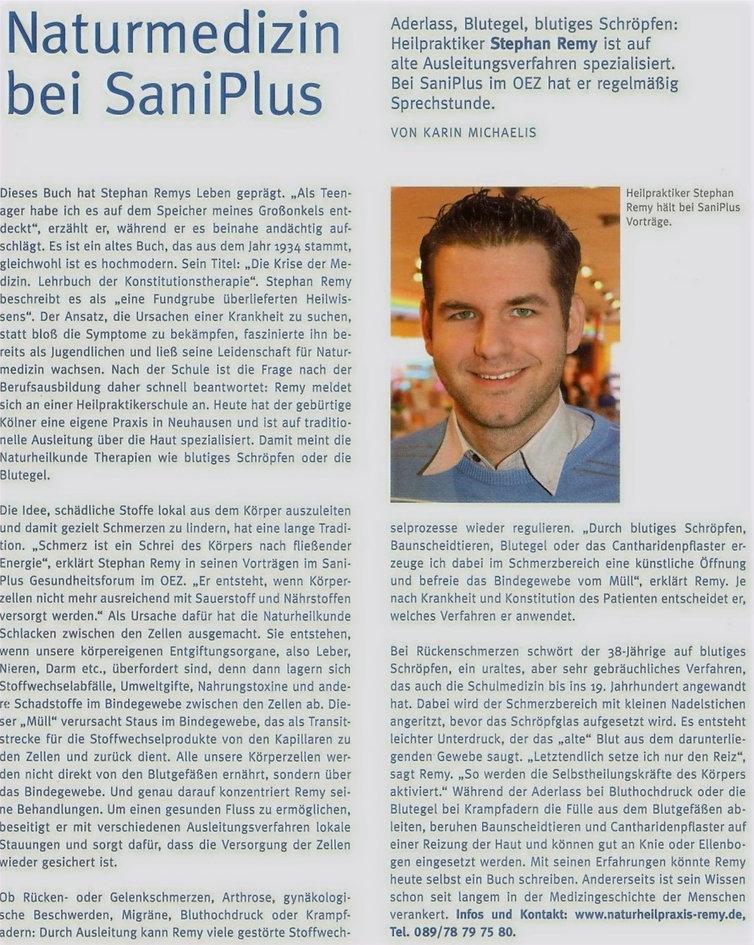 Sani_Plus-Heilpraktiker Stephan Remy