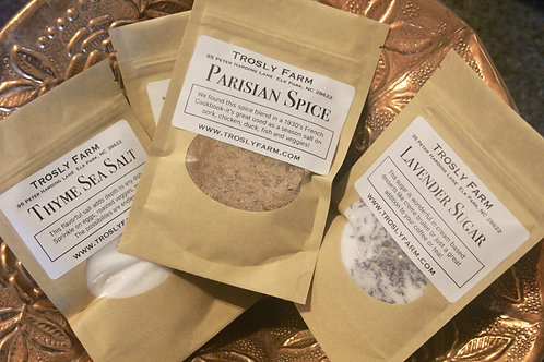 Gourmet Cooking Salts & Spices
