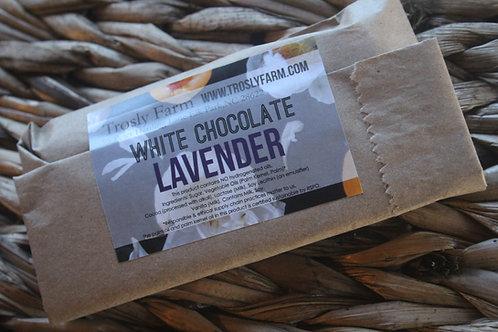 White Chocolate Lavender Bar